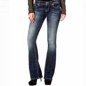 Miss Me Womens Distressed denim jeans size 27